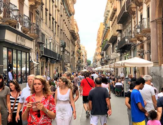 Free walking tour Palermo